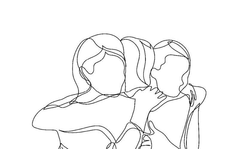 Los abrazos que no nos dimos. Un proyecto de Imaginautak. a Fortiori Editorial